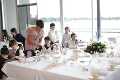 Bridal Party Table in the Promenade #thepointalbertpark #bridaltable #tablesetting #wedding #brideandgroom #weddinginspo #weddingideas #weddingvenue #melbournevenues #melbournefunctions #melbournewedding