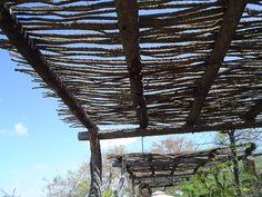 Rustic Shade Arbor Pergola and Patio Cover Maureen Gilmer Morongo Valley, CA