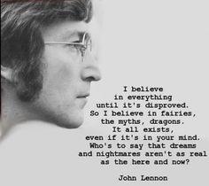 I love John Lennon. Such an old soul.
