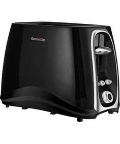 Breville Style 2 Slice Toaster - Black.