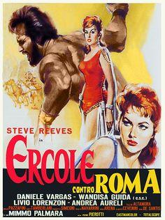 STEVE REEVES IN GIANT OF MARATHON movie poster MYLENE DEMONGEOT hot 24X36