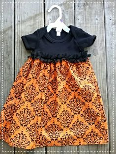 Check out this item in my Etsy shop https://www.etsy.com/listing/250580135/halloween-onesie-dress-infant-girls-3-6