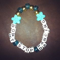 Don't Stop Dancing Kandi Single by Cali Coast Couture. To order contact…