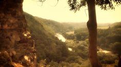 Výhled z hradu Týřov na Berounku | Křivoklátsko