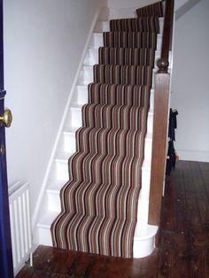 Carpet Runners Home Depot Canada Refferal: 7417092636 Wall Carpet, New Carpet, Bedroom Carpet, Stair Carpet, Striped Carpet Stairs, Striped Carpets, Plastic Carpet Runner, Natural Carpet, Uk Homes