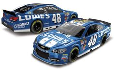 2013 JIMMIE JOHNSON #48 LOWES 6X NASCAR SPRINT CUP CHAMPION 1/24 ACTION DIECAST