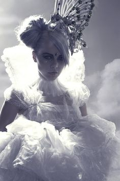 Kerli - she is very creative, talented, and hard working. She is unique, edgy, confident, earthy, and magical. Plus (don't know if she currently still is) she's a pescetarian :)