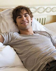 Chace Crawford... I can't even concentrate right now.