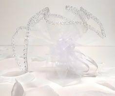10/50/100 Organzasäkchen Geschenkbeutel Gastgeschenk weiß 25 cm rund Glitzer von ARTelierFranzke auf Etsy Soap Bubbles, Guest Gifts, Organza Bags, I Shop, Sparkle, Silver, How To Make, Etsy, Favors