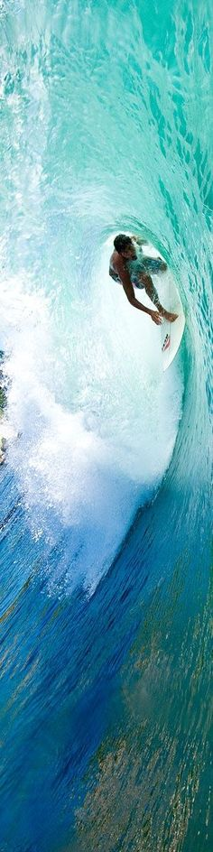 Surfer surfing a big wave ✿⊱╮