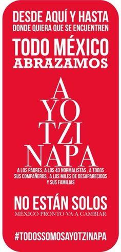 #todossomosayotzinapa  #YaMeCansé #Ayotzinapa https://survivingmexico.wordpress.com/2014/11/21/more-thoughts-on-safety-and-security/