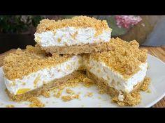 Krispie Treats, Rice Krispies, Flan, Deserts, Meals, Cheesecake, Youtube, Sweets, Crack Cake