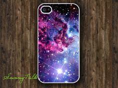 Iphone 4/4S Case Fox Fur Nebula on White Iphone 4 by SunnyTalk, $6.99