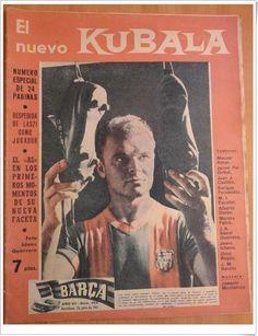 Despedida y homenaje de Kubala en 1961