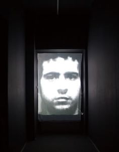 Christian Boltanski, Entre Temps (Between Times), 2003, projection on polyurethane, at Foksal Gallery, 2008. Courtesy the artist and Marian Goodman Gallery, Paris / New York. All rights reserved