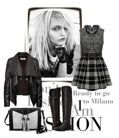 """Ready to go to Milano... :-)"" by marastyle ❤ liked on Polyvore featuring Carianne Moore, HIDE, Naturalizer, women's clothing, women, female, woman, misses and juniors"