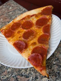 Bleecker Street Pizza NYC: Hole in the wall place, good pizza. Thin crust, cheese is divine, wish I would've eaten more!