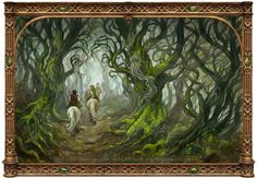 The Old Forest by BohemianWeasel.deviantart.com on @DeviantArt