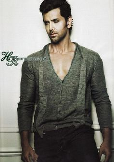 Hrithik Roshan - one more time in case the muscles distracted you