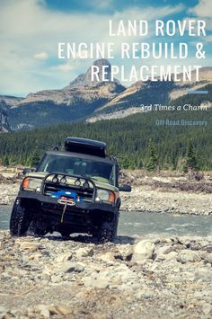 Land Rover Discovery 2 Engine Rebuild and Replacement