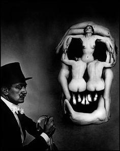 Salvador #Dali skull