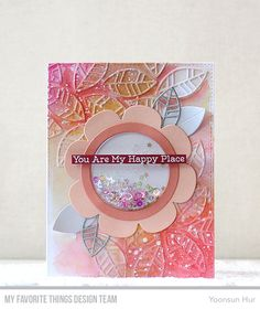 Hello crafty friends, happy Monday! Welcome to theMy Favorite Things May Release Countdown Day 2. Today I want to share with you my shaker cards with the Shaker Flower Die-namics. Oh, I love this …