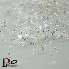 2016 Top 1.1mm SS1 1440pcs/pack Clear/Clear AB Nail Rhinestone,Micro Rhinestones Micro Pixie Manicure Decoration