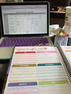 Planning with an #ErinCondren Teacher Lesson Planner!