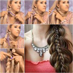 Beautiful Double Braid Hairstyle Tutorial | UsefulDIY.com Follow Us on Facebook…