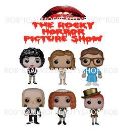 Funko Pop! Movies Rocky Horror Picture Show Complete Vinyl Figure Set (6)