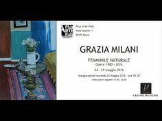 Femminile Naturale Grazia Milani Metalli 1980-2016 la mostra a Roma