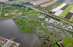 Landscape architecture, Subplan 3/4 – HOSPER landscape architects and urban design Park of Luna flow labyrinth and Huygendijk woods – DRFTWD Office associates and HOSPER Masterplan 'City of the Sun', Subplan 1/2: KuiperCompagnons Location: Heerhugowaard-South, The Netherlands Client: Municipality of Heerhugowaard and HAL-board Project management: projectbureau 'City of het Sun'
