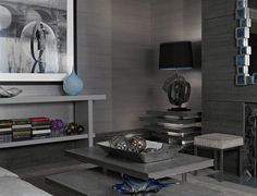 metallic silver glam seagrass wallpaper wall covering living room. I WANT IT.