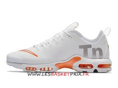 Nike Air Max Plus Tn Ultra SE AQ0242-100 Chaussures Nike Basket Blanc Rose  Pas 47cfd27b70f