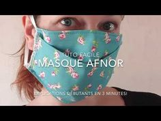 Tuto mask afnor easy without a boss with an open filter Diy Mask, Diy Face Mask, Knitting Projects, Sewing Projects, Manicure Y Pedicure, 3d Face, Tips & Tricks, Couture Sewing, Tapas