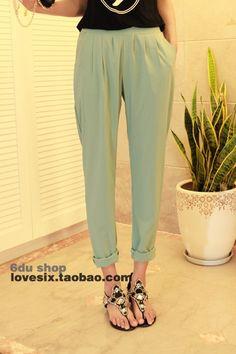 harem pants trousers casual pants Women Trousers for women -  http://zzkko.com/book/shopping?note=27337 $8.17