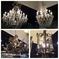 These are just a few of the special lighting pieces we have at Trilogy...
