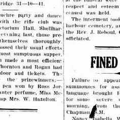 08 Aug 1928 - FINED £21