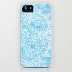 Baby Blues iPhone & iPod Case #iphone #samsung #ipod #cases #blue #pattern