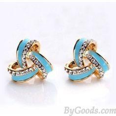 Bling Rhinestone Fashion Earring Studs Fashion Earrings - Jewelry ByGoods.com