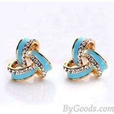 Bling Rhinestone Fashion Earring Studs|Fashion Earrings - Jewelry|ByGoods.com