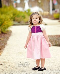 Princess Eilonwy - Everyday Princess Dress - Disney Inspired Peasant Dress - Sizes 6/12mo through 15/16 on Etsy, $60.00