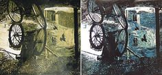Title - After Rain Medium - Wood Print  Size - 12 x 12 inch