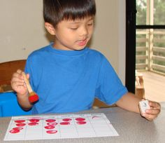 The Sight Word Stamp Game