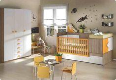 cuna convertible organizar habitacion infantil