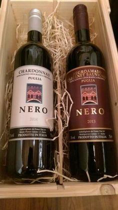 Nero in 2 vak kist
