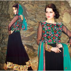 PRINCELY FESTIVE HEAVY EMBROIDERED SUIT