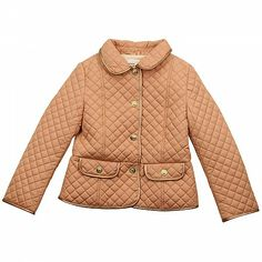 Salmon Pink Quilted Jacket CHLOE