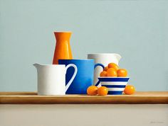 Gallery Henoch Artist Janet Rickus paints realist still life oil paintings of fruits and vegetables in natural light. Still Life Drawing, Painting Still Life, Still Life Art, Drawing For Kids, Painting For Kids, Fruit Painting, Painting Clouds, Still Life Photos, Life Pictures
