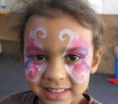 Princess Face painting design